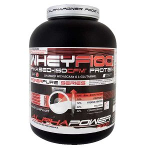 AlphaPower Food Whey F100 Phased-ISOCFM Protein