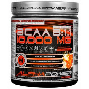 AlphaPower Food 100% BCAA 10.000 MG 8:1:1
