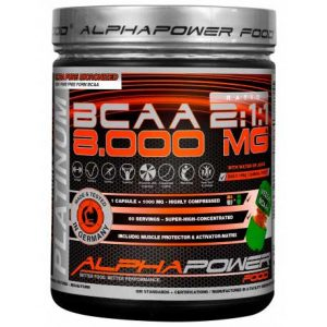 AlphaPower Food 100% BCAA 8000 mg.