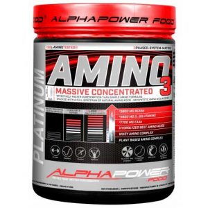 AlphaPower Food Amino 100% Massive 1000 tab.