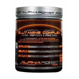 AlphaPower Food Glutamine Complex 300 g.