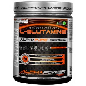Alphapower Food 100% Pure L-Glutamine