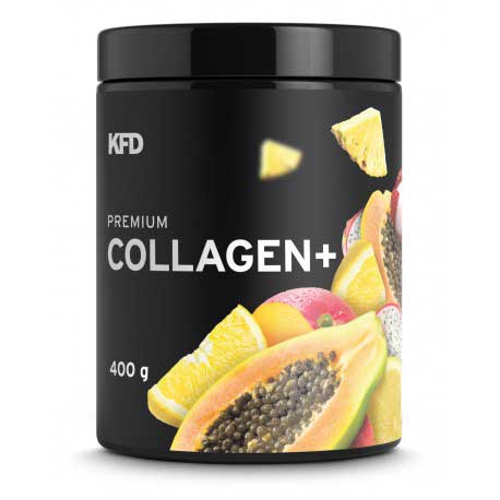 KFD Nutrition COLLAGEN + su saldikliais. 400 g.