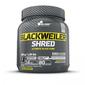 Olimp BLACKWEILER SHRED 480g.