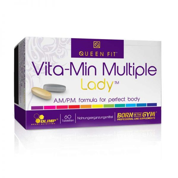 Queen Fit Vita-Min Multiple Lady 60 tab.